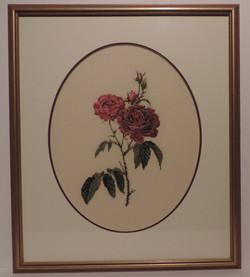 Framed_Cross_Stitch_Roses