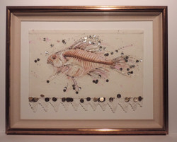 Framed Embroidery_Fish