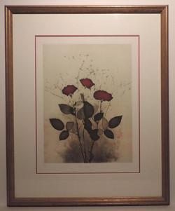 Framed_Etching_Roses