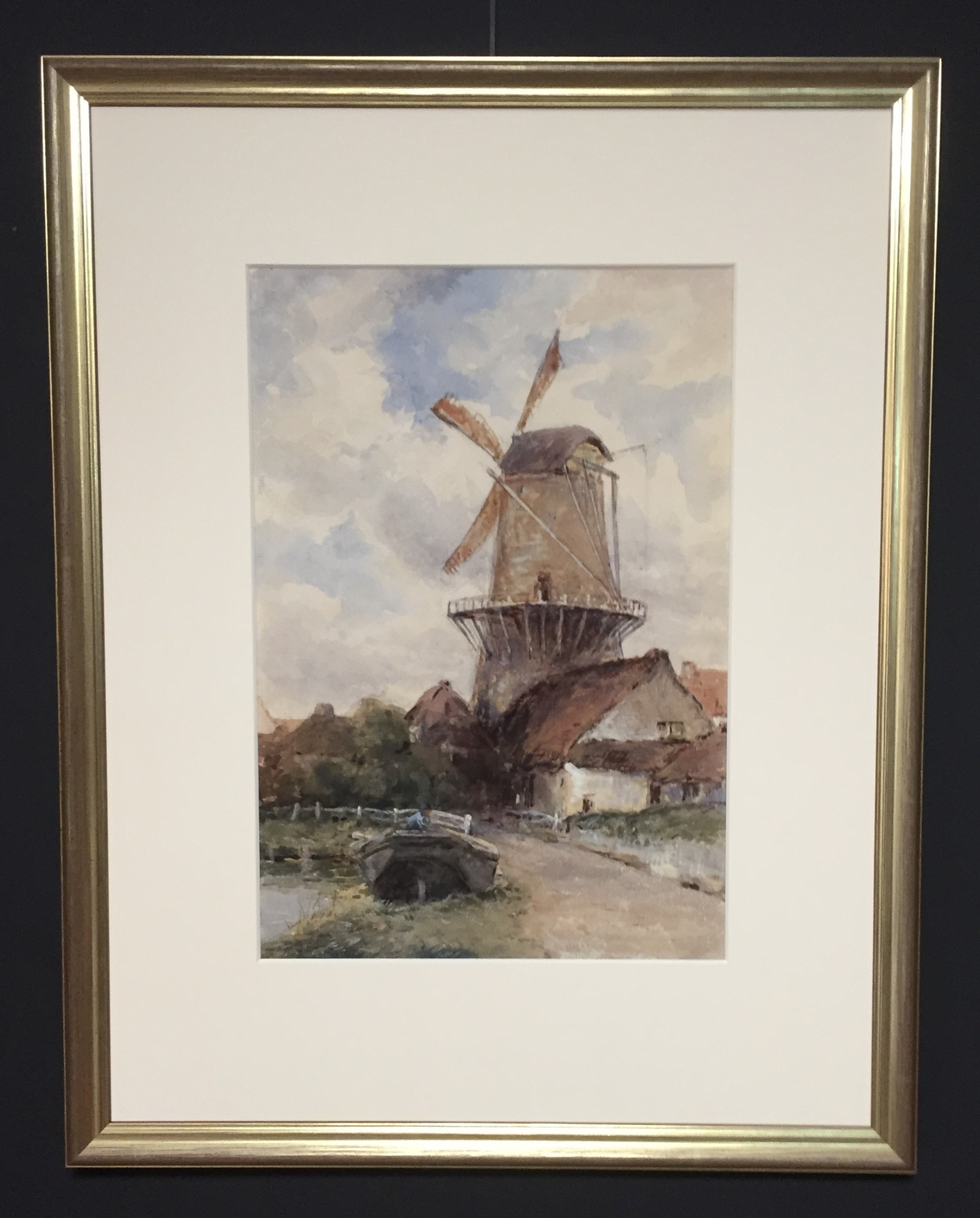 Watercolour_Painting_Dutch_Windmill_edit