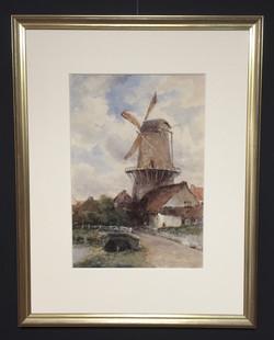 Watercolour_Painting_Dutch_Windmill_edit