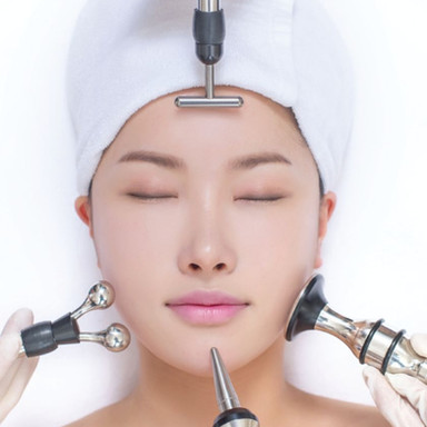 Galvanic ion care system- heren head spa