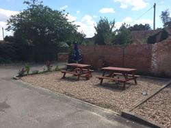 The revamped garden