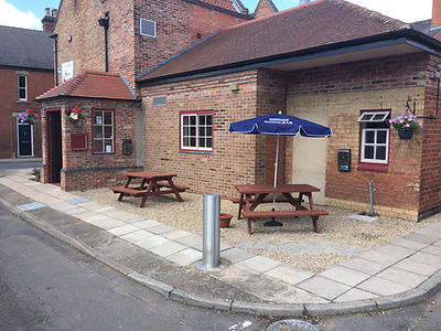 One Side of the Beer Garden