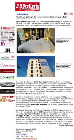 'Hôtellerie Restauration Magazine