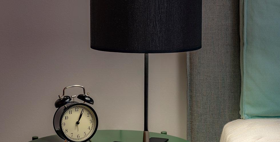 Lámpara de mesa con tres bombillas Doce S 1_T Negro