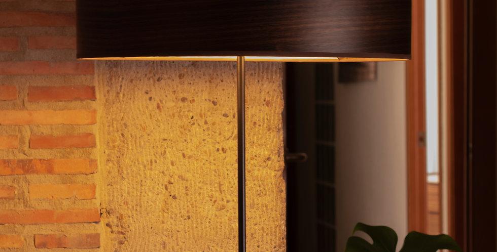 Lámpara de pie con tres bombillas Ocho Slim 1_F Eukaliptus