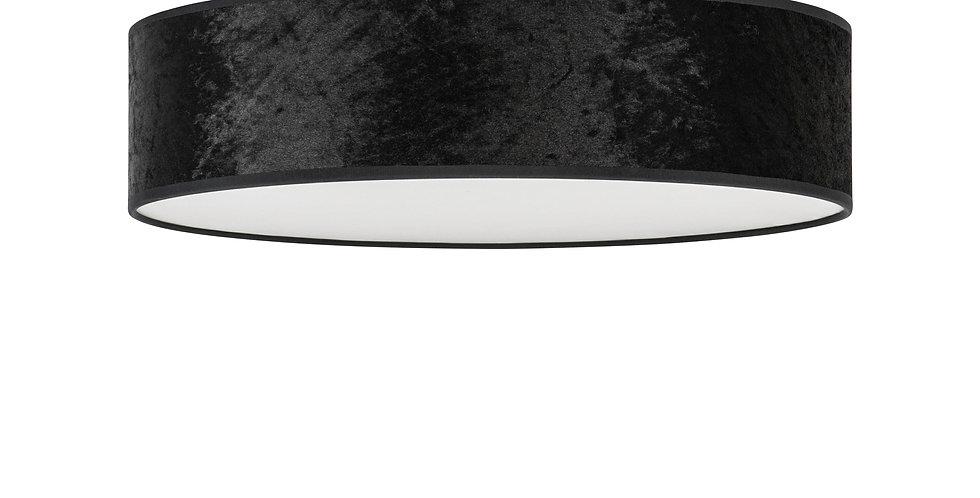 Lámpara de techo (plafón) con tres bombillas Quince L 1_C Negro