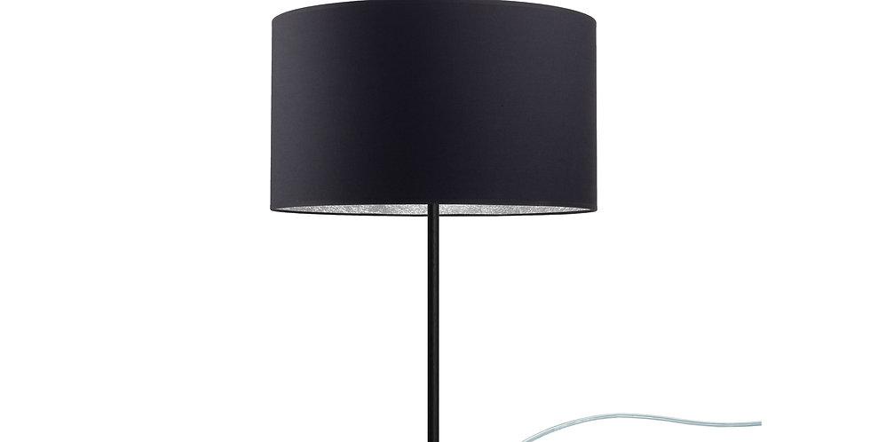 Lámpara de sobremesa MIKA M 1 / T Negra/Plateada