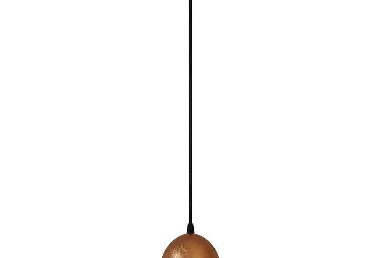Lámpara colgante individual UME  1_S COBRE