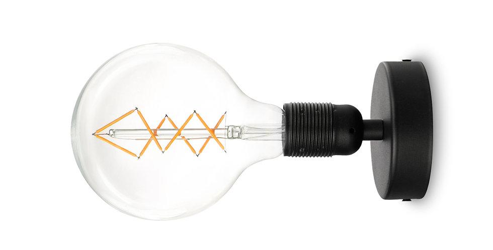 Copia de Lámpara de techo (plafón) Bi 1_CP Negro