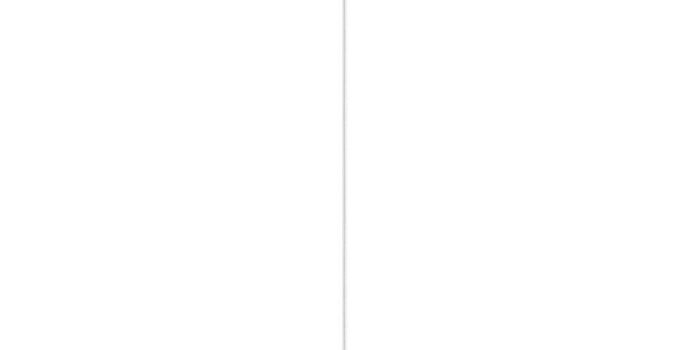 Lámpara de techo Cinco 1_S BLANCO/PLATA