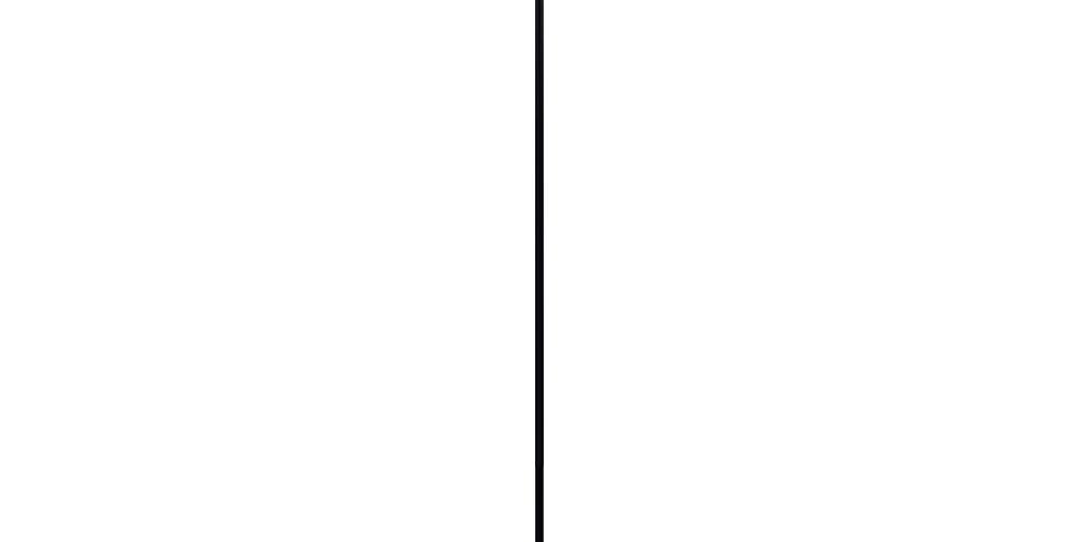 Lámpara de pié Uno 1_F Negro
