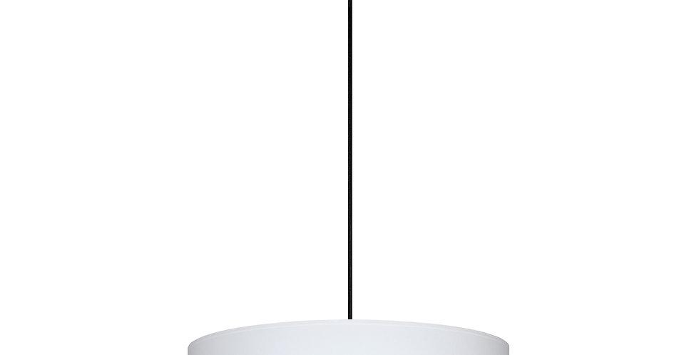 Lámpara de techo colgante Tres XL 1_S Blanco/ interior dorado