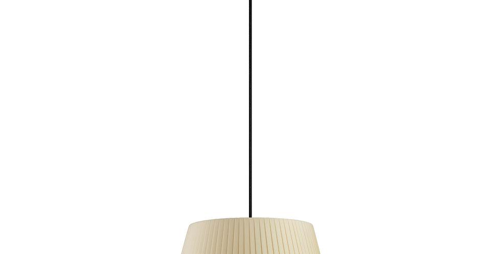 Lámpara colgante Kami M 1_S Crema