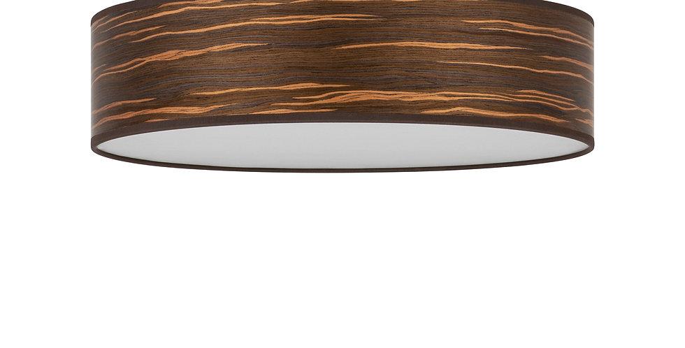 Lámpara de techo (plafón) con tres bombillas Ocho L 1_C Nogal