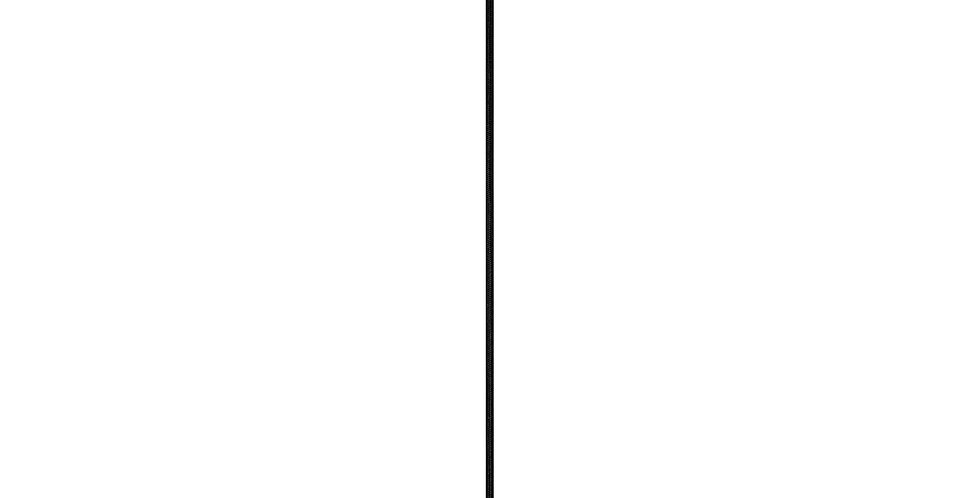 Lámpara colgante simple Cero 1_S NEGRA