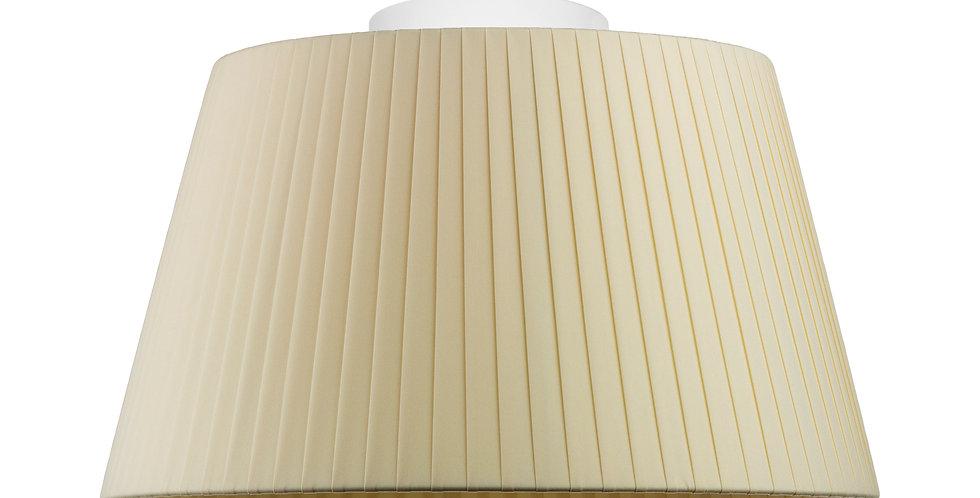 Lámpara de techo simple Kami M 1_CP Crema