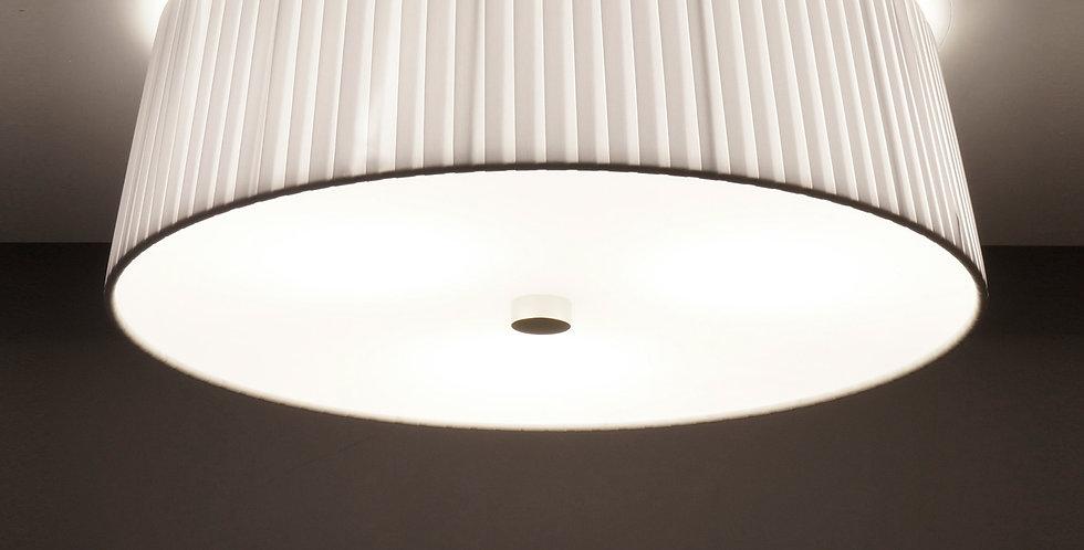 Lámpara de techo simple KAMI M 1 / C, blanca