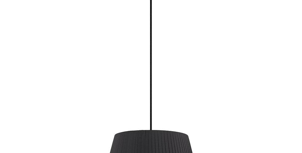 Lámpara colgante Kami M 1_S Negro