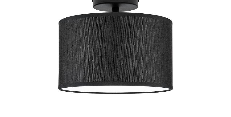 Lámpara de techo (plafón) con tres bombillas Doce S 1_CP Negro