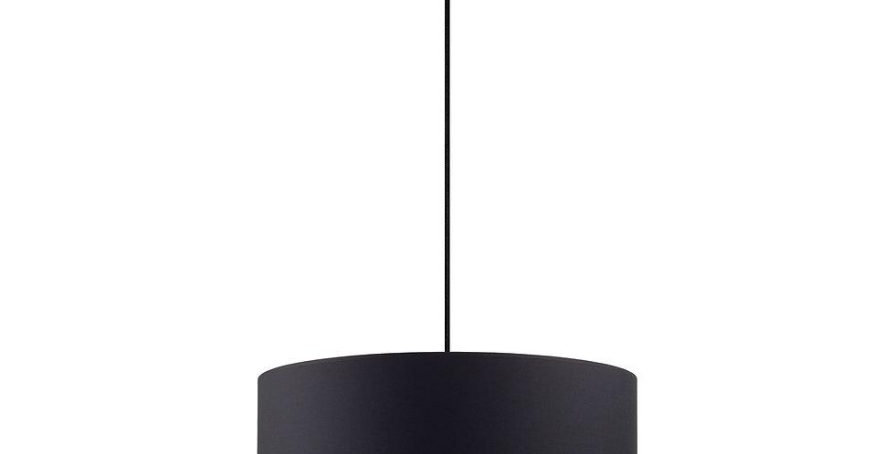 Lámpara colgante MIKA XL 1 / S  Negro
