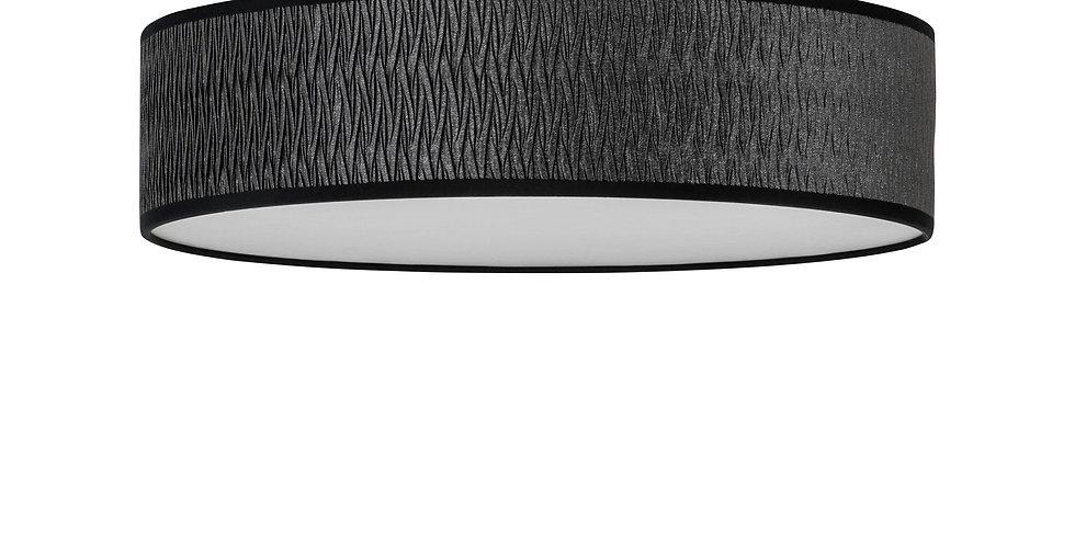 Lámpara de techo (plafón) con tres bombillas Once L 1_C Negro