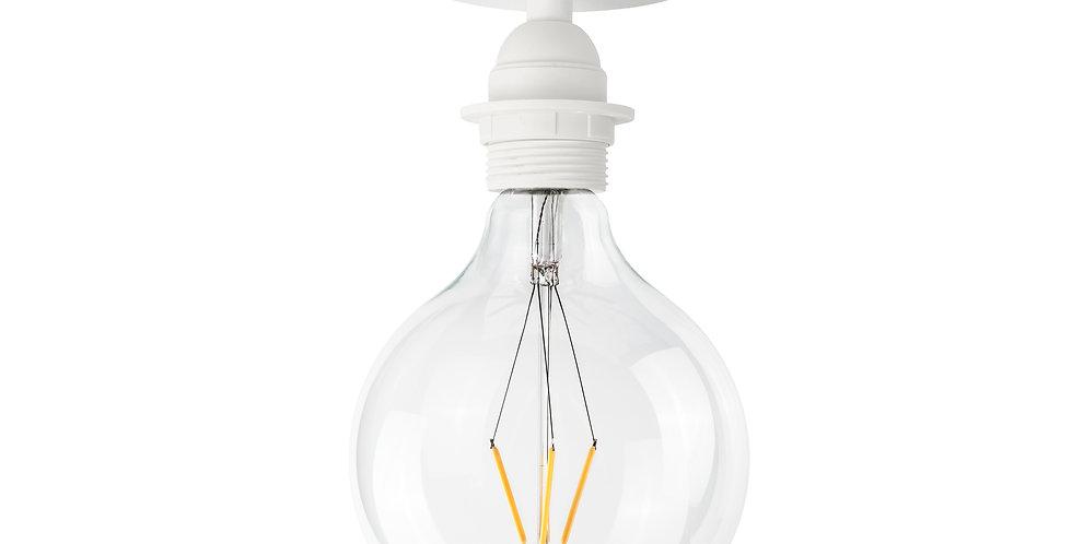 Lámpara de techo (plafón) Uno Plus 1_CP Blanco