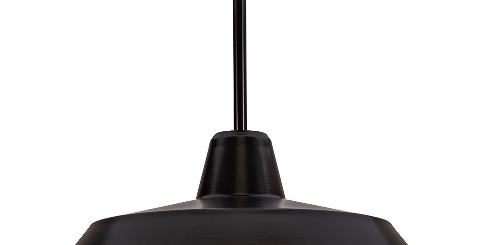 Lámpara de techo CINCO 1_CP NEGRO/PLATA