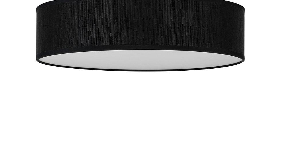 Lámpara de techo (plafón) de tres bombillas Doce L 1_C Negro