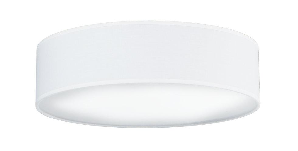 Lámpara de Techo de 3 Luces con Pantalla de Tela de Diseño Mika L 1_C