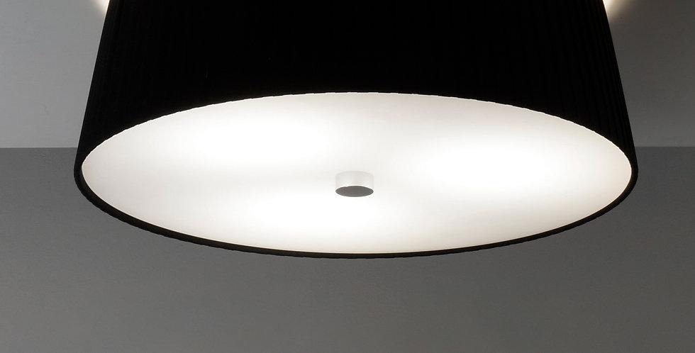 Lámpara de techo simple KAMI Elementary M 1 / C negro