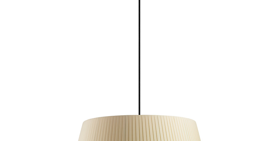 Lámpara colgante Kami XL 1_S Crema