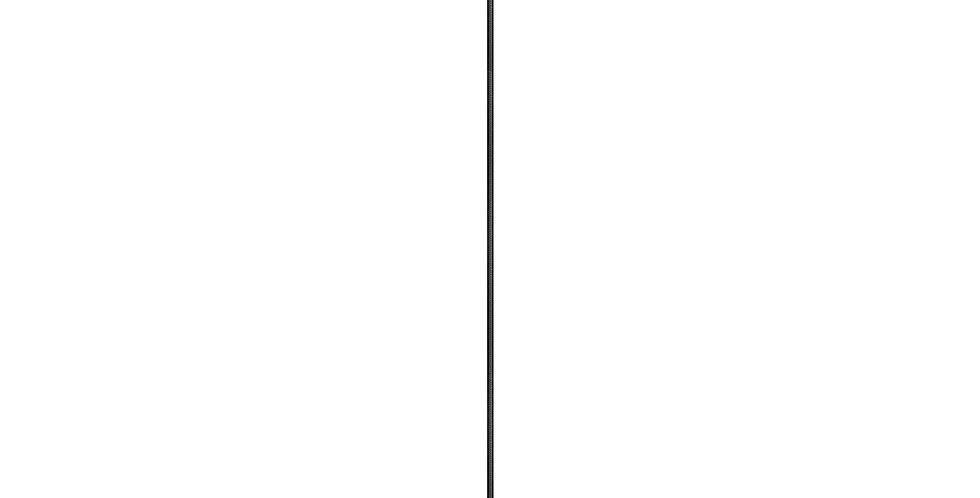 Lámpara de techo Cinco 1_S NEGRO/ORO