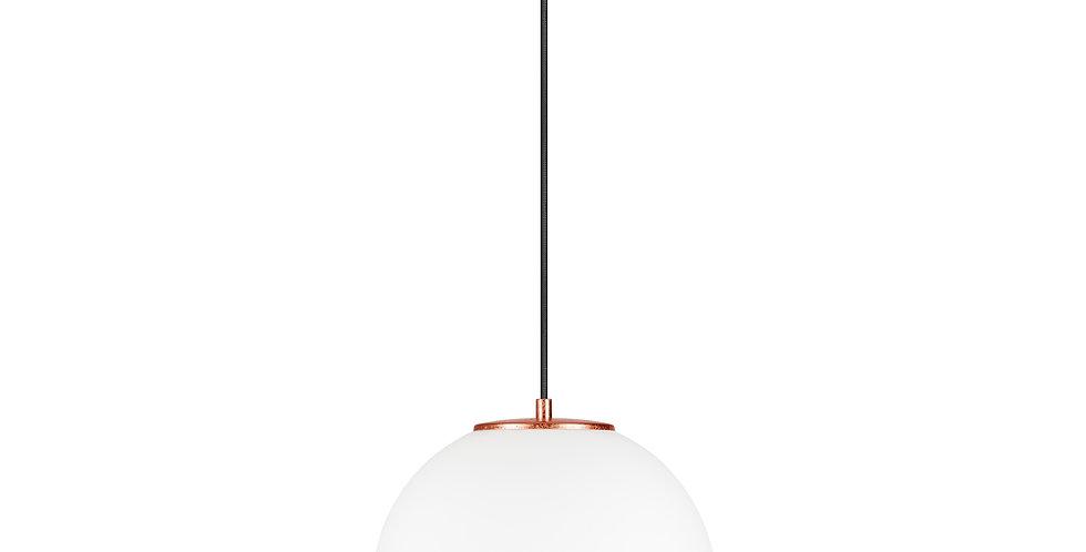 Lámpara colgante individual, blanco mate TSUKI L 1 / SCobre