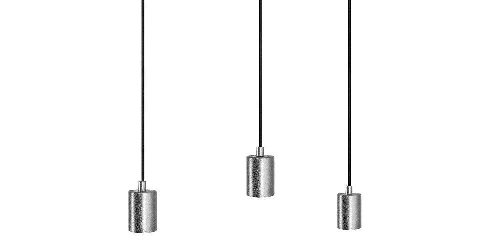 Lámpara de techo triple cero 3_S PLATA