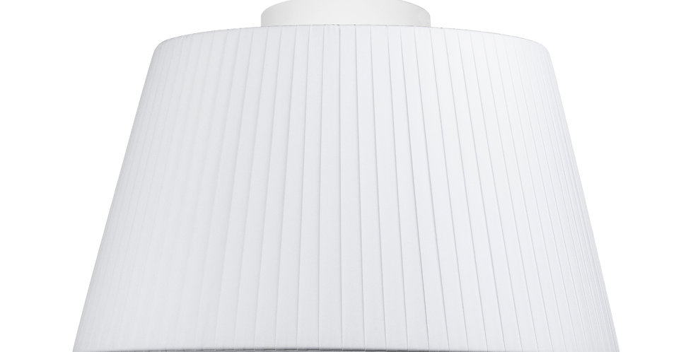 Lámpara de techo simple Kami M 1_CP blanco