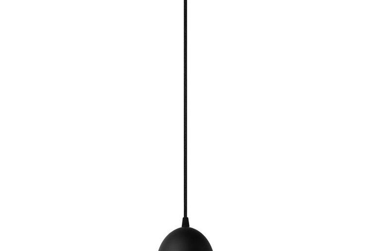 Lámpara colgante individual UME  1_S NEGRA