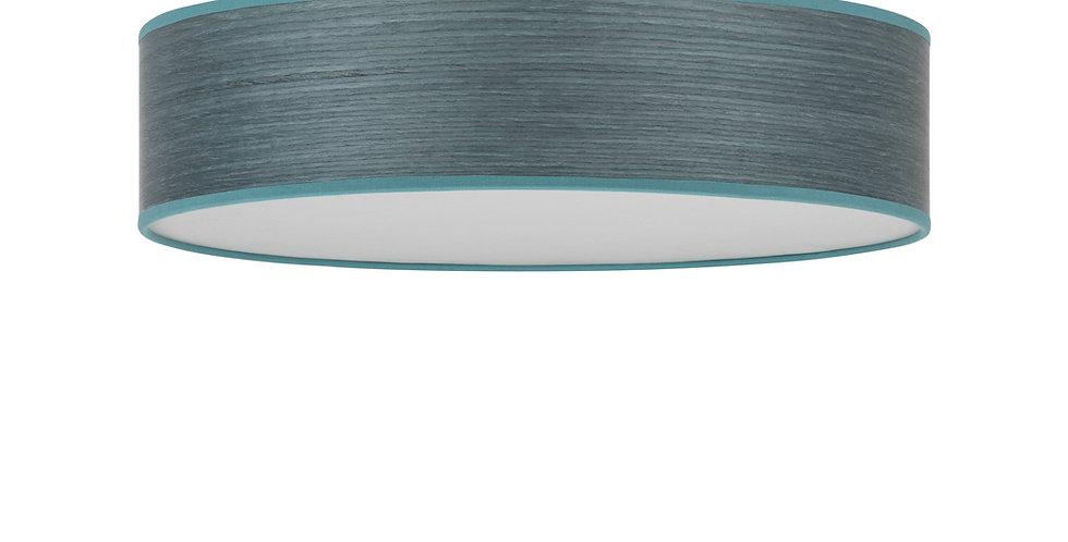Lámpara de techo (plafón) con tres bombillas Ocho L 1_C Azul