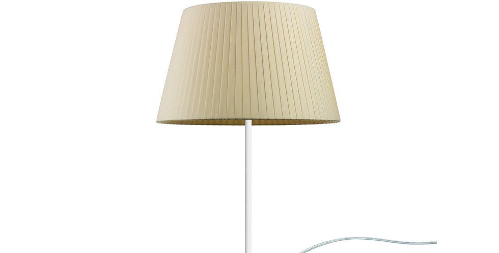 Lámpara de Mesa de 1 Luz KAMI M 1/T Crema