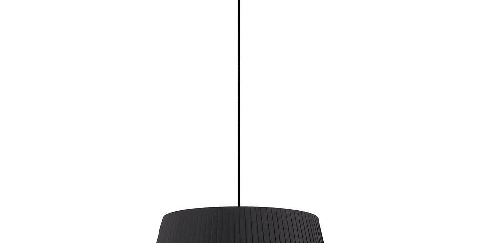 Lámpara colgante Kami L 1_S Negro