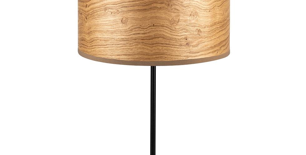 Lámpara de Mesa de 1 Luz Ocho S 1_T Roble rústico
