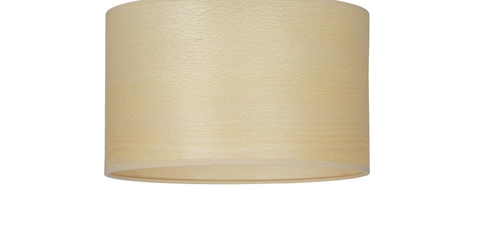 Plafón de techo de 1 Luz  Tsuri S 1_CP Haya blanca