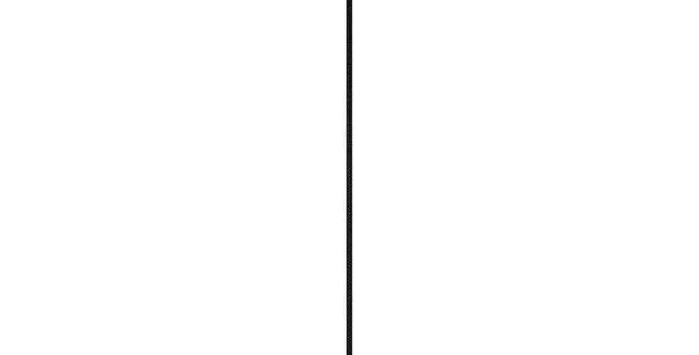 Lámpara colgante simple Cero 1_S PLATA