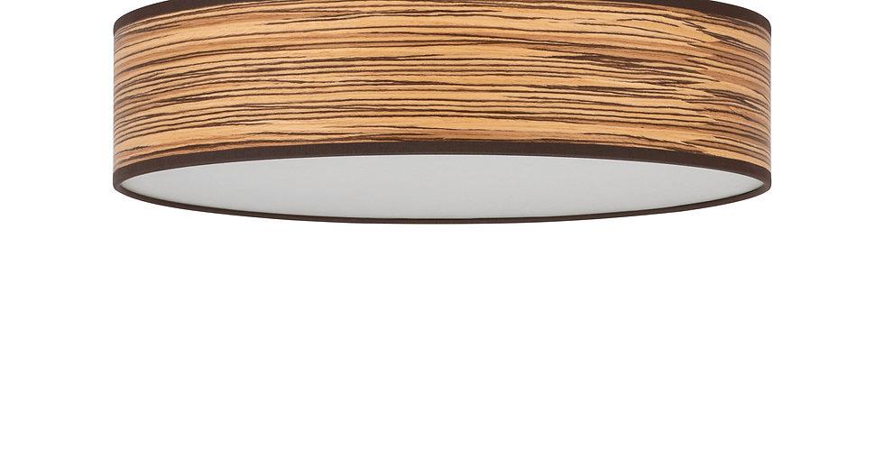 Lámpara de techo (plafón) con tres bombillas Ocho L 1_C Cerezo