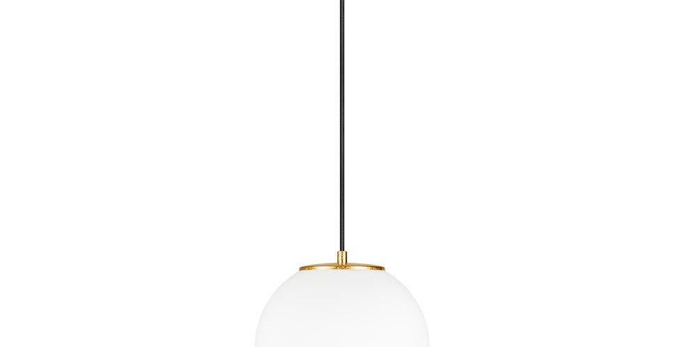 Lámpara colgante individual, blanco mate TSUKI  M 1 / S Oro