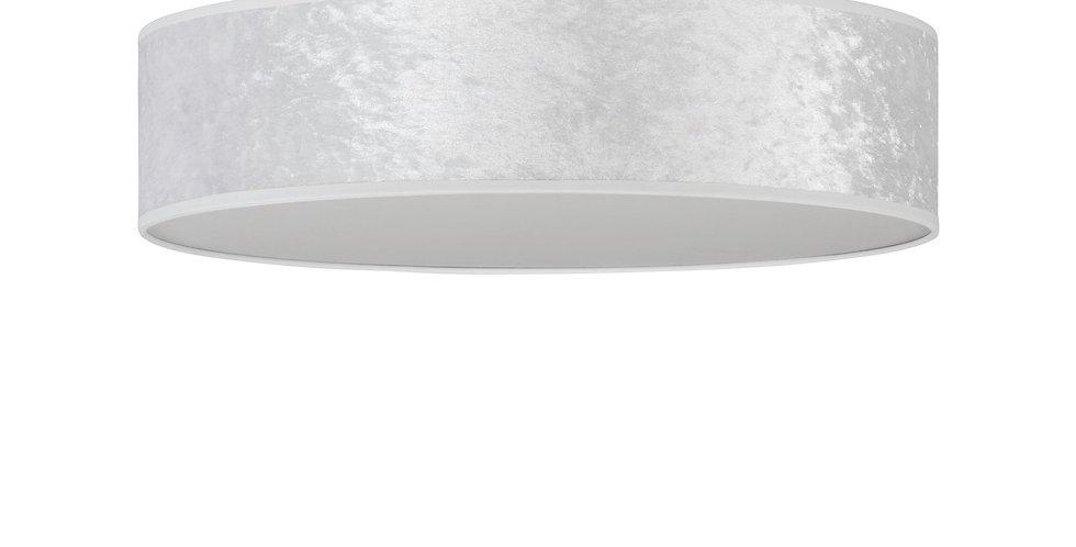 Lámpara de techo (plafón) con tres bombillas Quince L 1_C Blanco