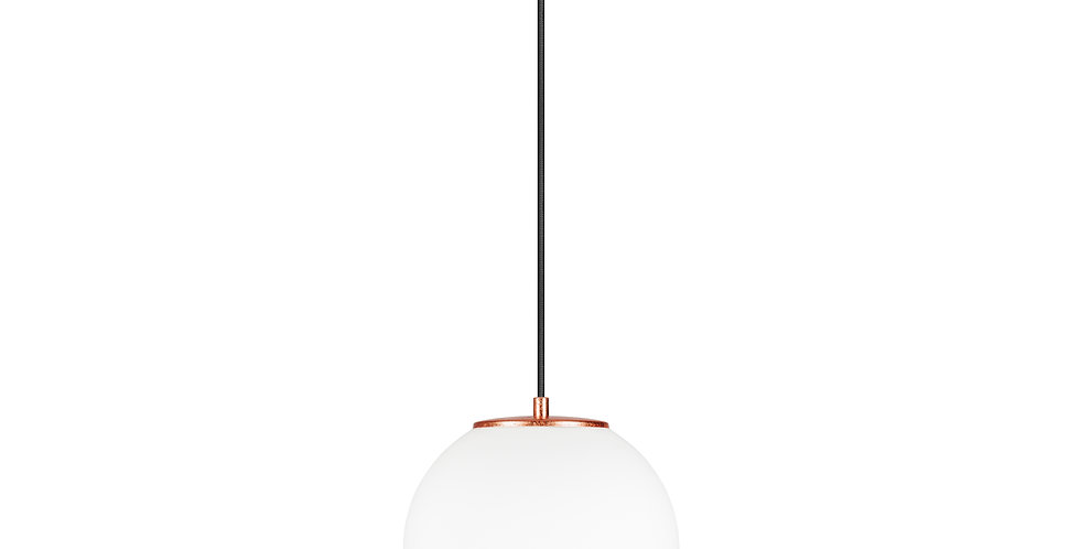 Lámpara colgante individual, blanco TSUKI  M 1 / S Cobre