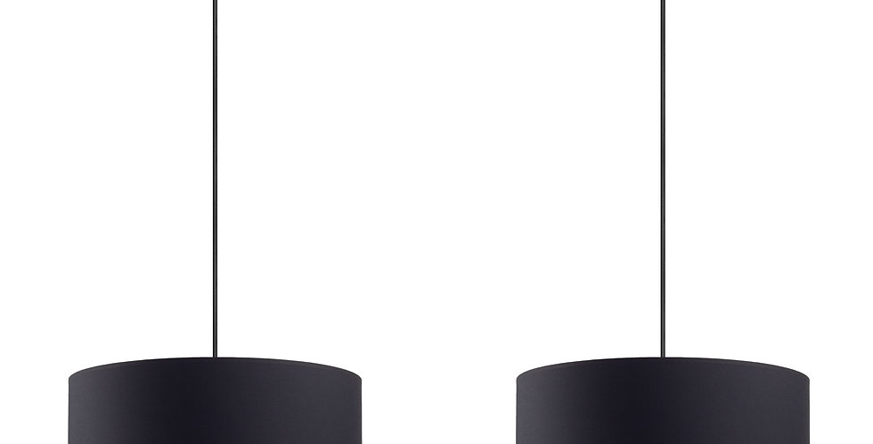 Lámpara colgante doble MIKA L 2 / S