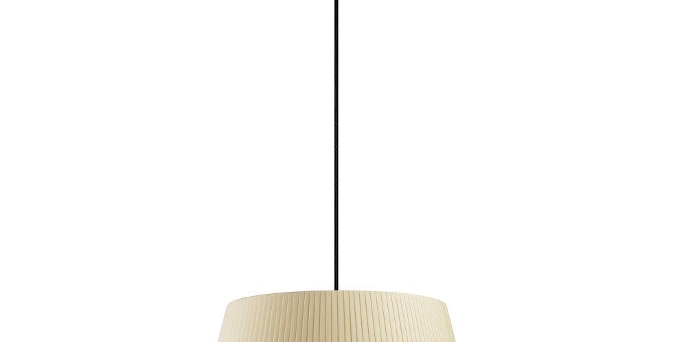 Lámpara colgante Kami L 1_S Crema
